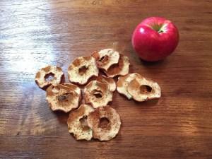 KitchAnnette Apple Chips Baked