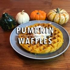 KitchAnnette Pumpkin Waffles Feature