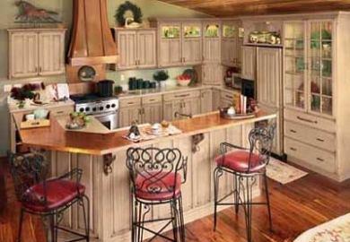Glazed Kitchen Cabinets Diy Antique Painting Kitchen