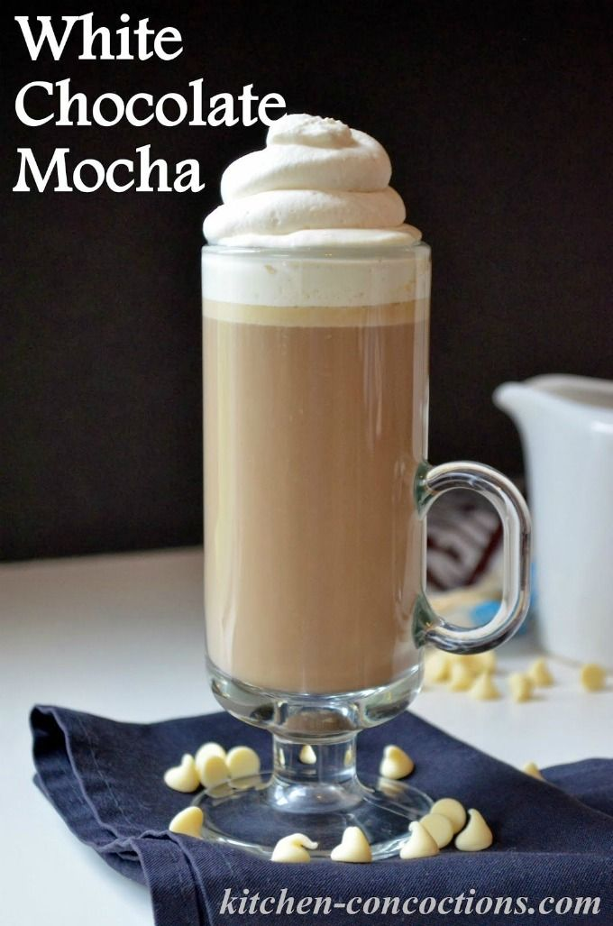White Chocolate Mocha Kitchen Concoctions