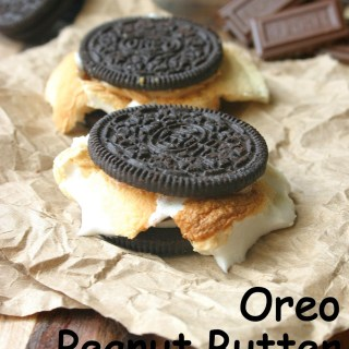 Oreo Peanut Butter S'mores