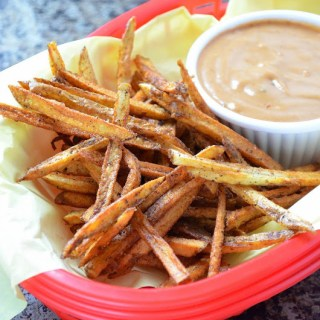 Seasoned Shoestring Fries with Creamy Mesquite Fry Sauce