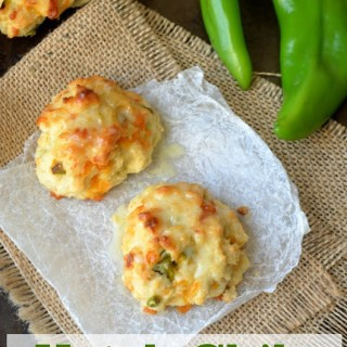 Hatch Chile Cheddar Biscuits