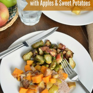 Slow Cooker Pork Loin with Apples and Sweet Potatoes