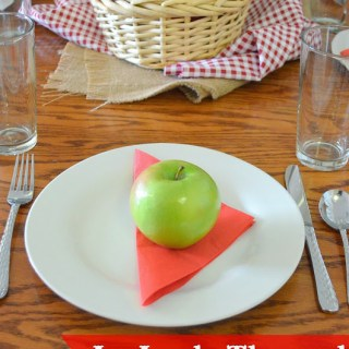 Fall Trail Mix Cookies and An Apple Themed Dinner Party (Complete with a Menu Full of Apple Recipes!)