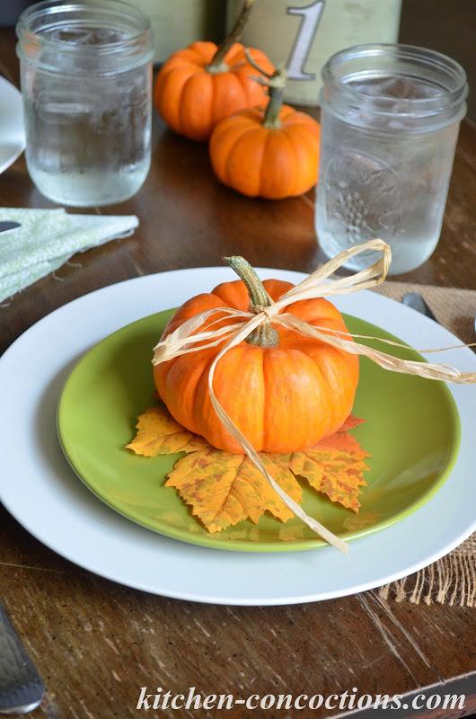 Pumpkin Dinner Party