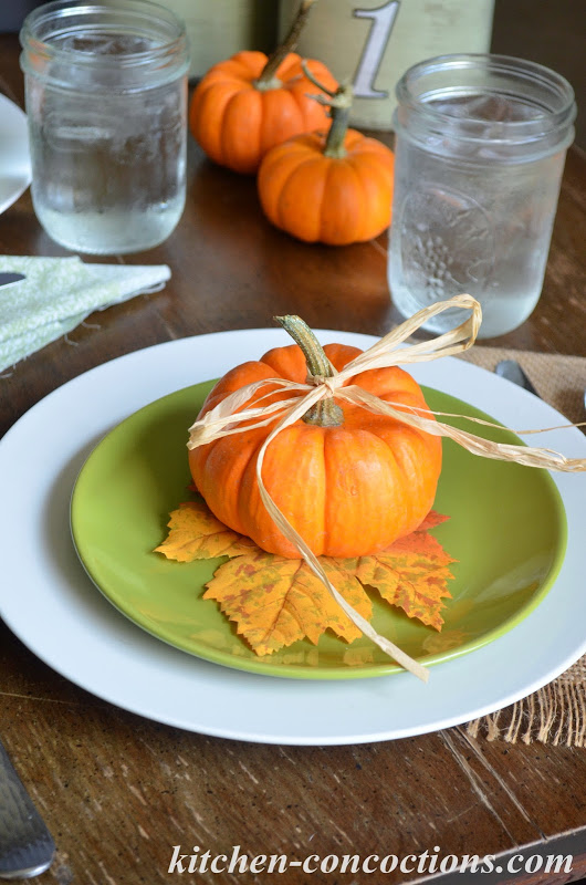 Pumpkin Dinner Party