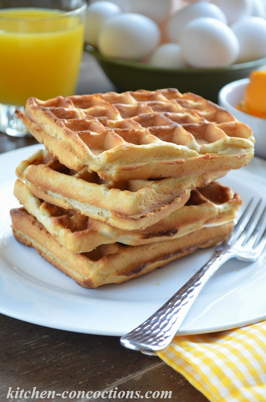 Buttermilk Biscuit Waffles with Creamy Sausage Gravy