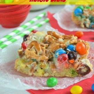 M&M's® Crispy Cookie Magic Bars