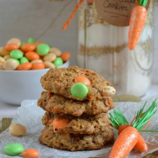 M&M's® Carrot Cake Cookies In a Jar and Easy Easter Brunch Ideas