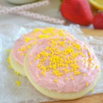 Soft Baked Strawberry Lemonade Cookies