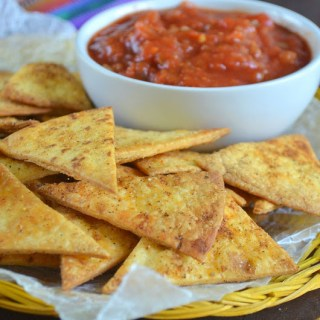 Oven Baked Tortilla Chips