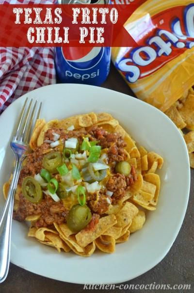 Texas Frito Chili Pie - Kitchen Concoctions
