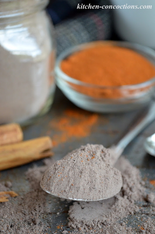 Mexican Spiced Hot Chocolate Mix