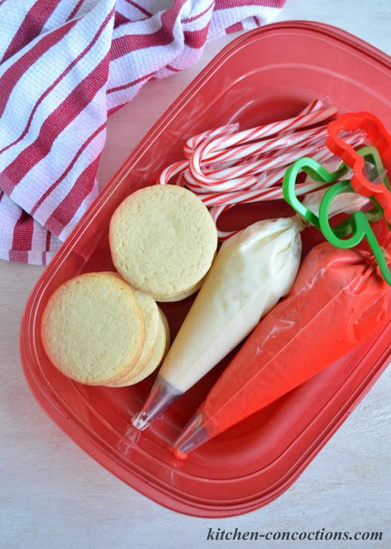 DIY Holiday Cookie Decorating Kit