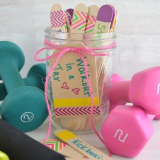Workout in a Jar with 50+ Workout Ideas!