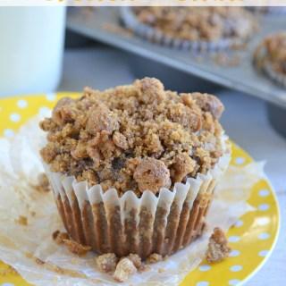 Chocolate Banana Crunch Muffins