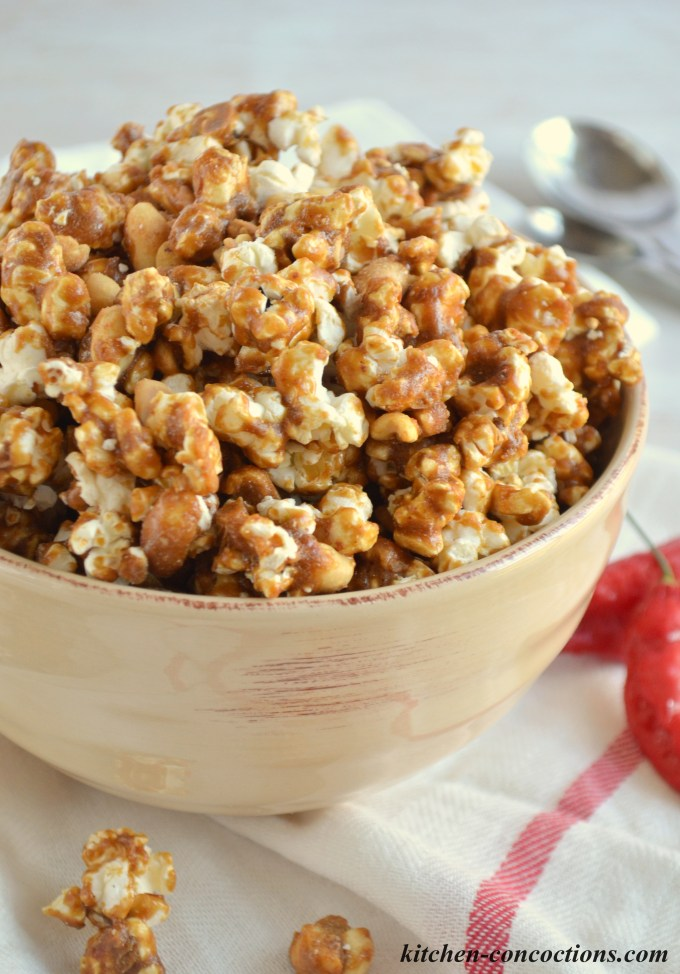 Sweet Heat Caramel Corn Recipe