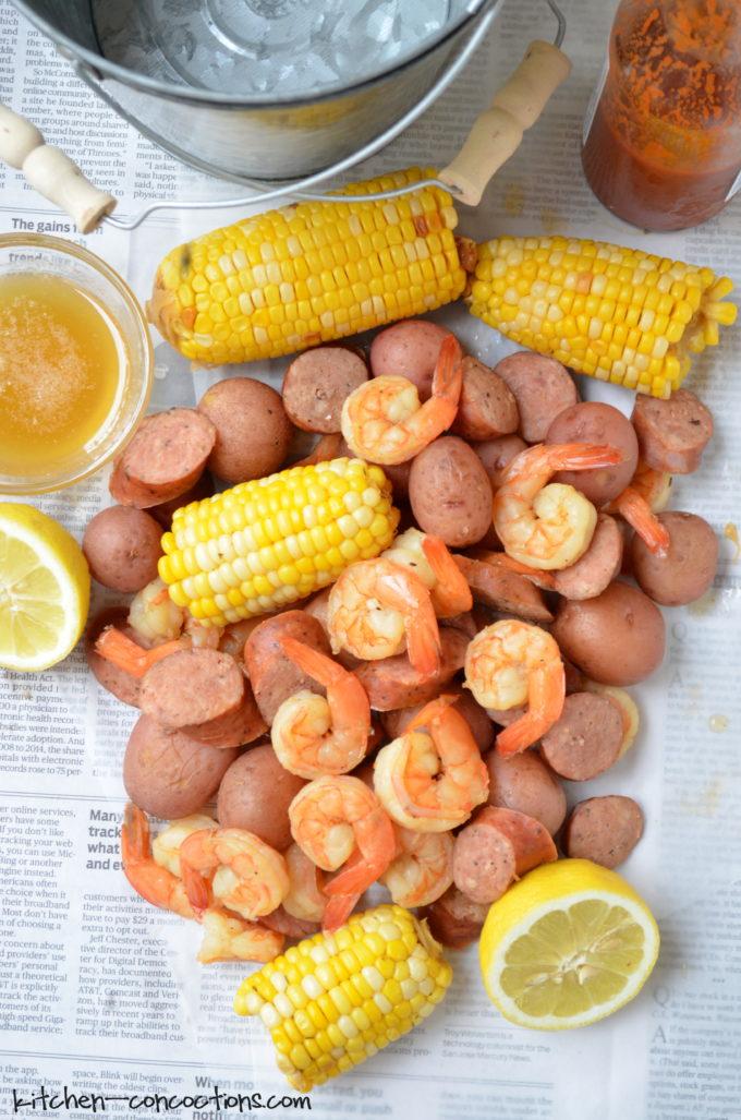 Southern Shrimp Boil