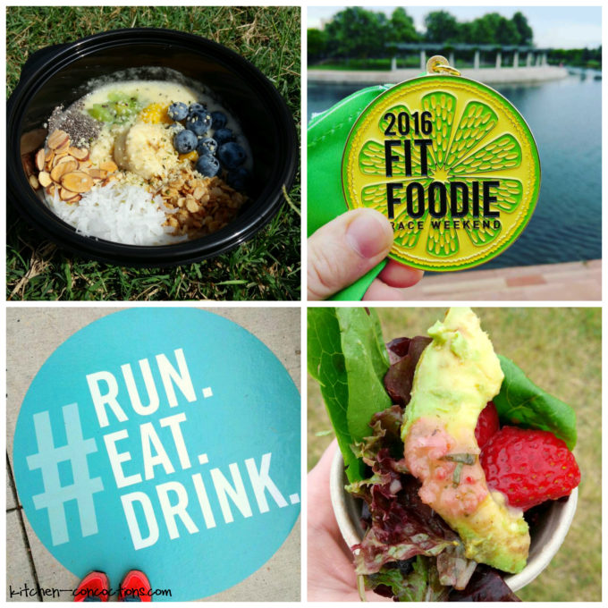 fit foodie race