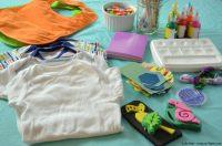 Baby Shower Idea: Onesie Decorating - Kitchen Concoctions