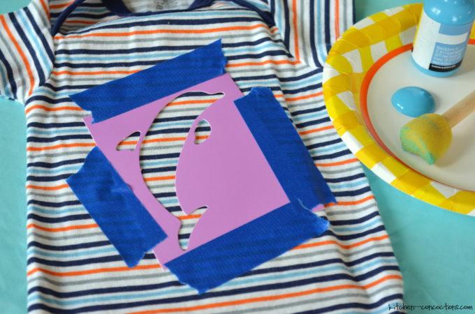 Baby Shower Ideas- Onesie Decorating