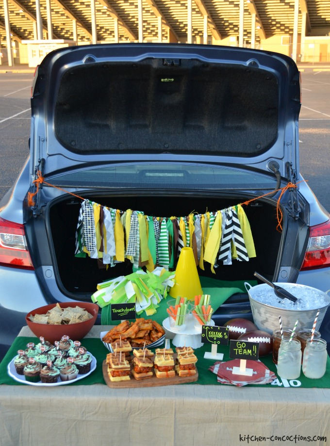 Tailgating Ideas, Recipes and Tips