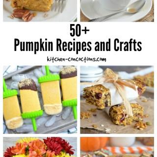 50+ Pumpkin Recipes and Crafts