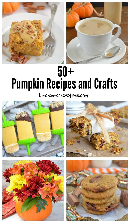 Pumpkin Recipes and Crafts