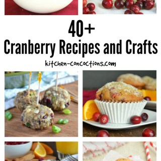 Cranberry Recipes and Crafts