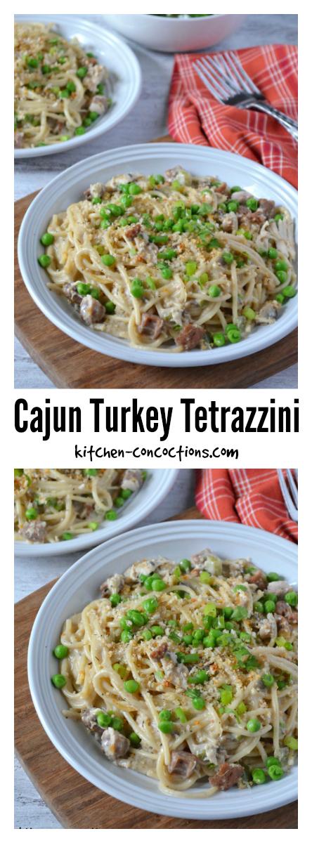 Cajun Turkey Tetrazzini