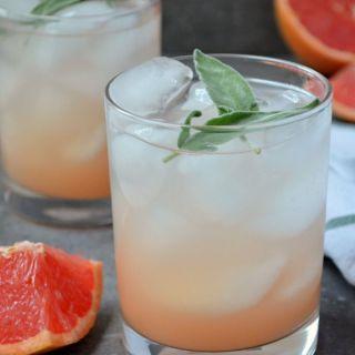 Grapefruit Sage Spritzer