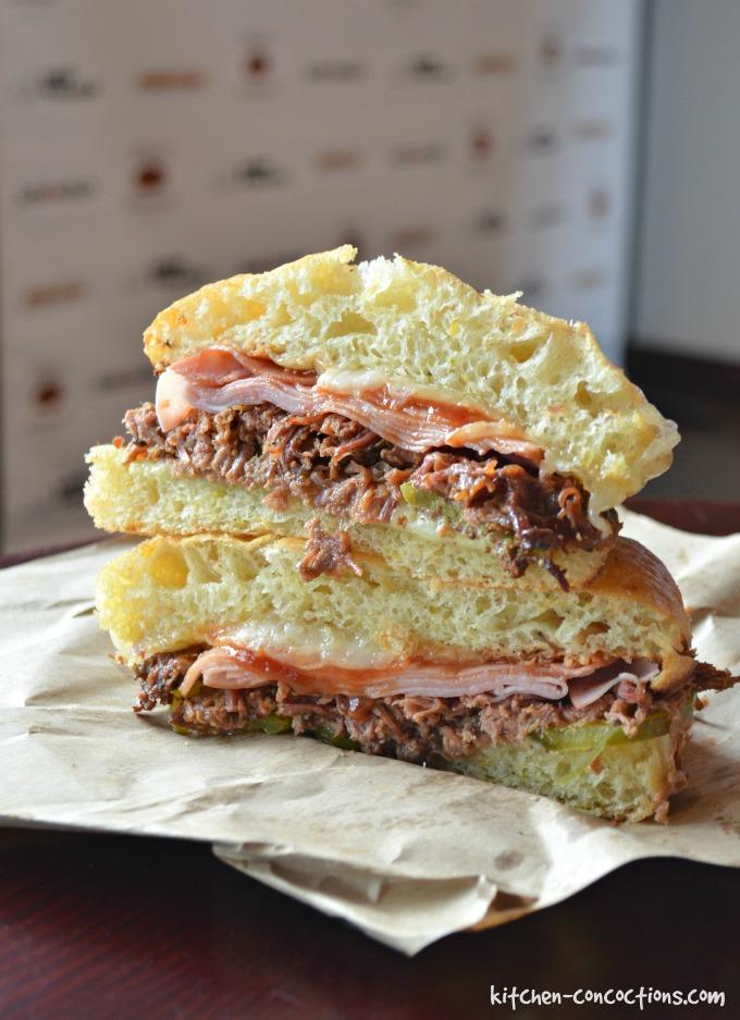 Schlotzsky's Brisket Sandwiches
