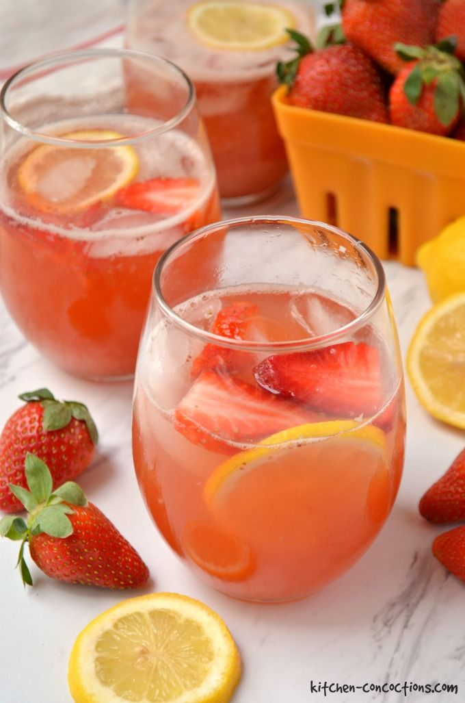 Strawberry Balsamic Lemonade