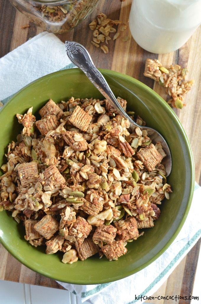 Cinnamon Anise Granola
