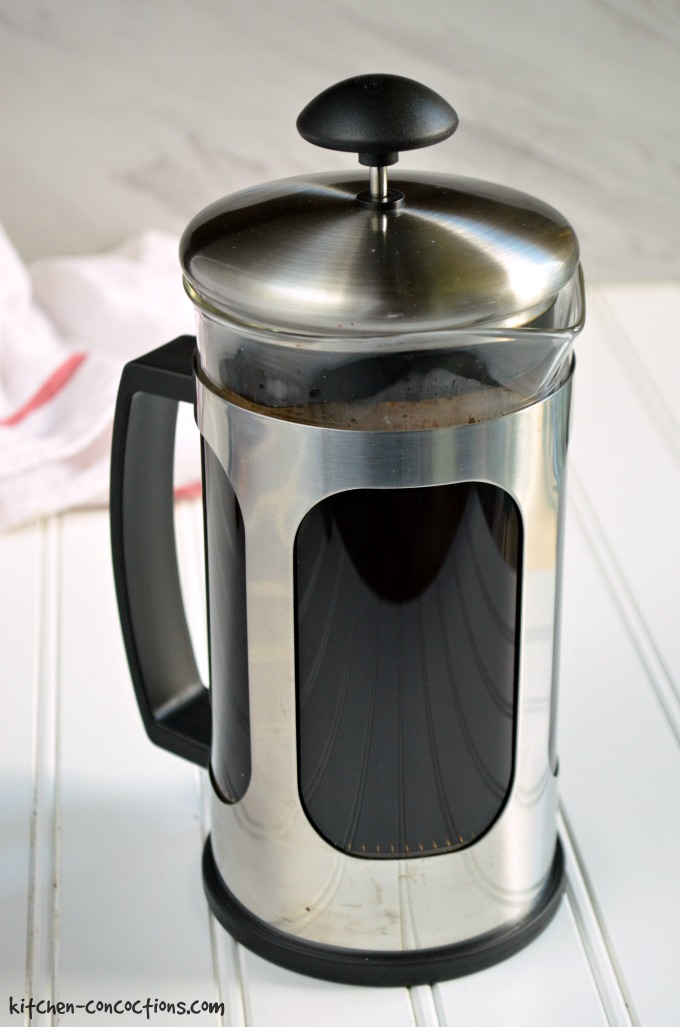French Press Coffee Maker Tips : Tres Leches Coffee Creamer Recipe {Plus How To Make French Press Coffee} - Kitchen Concoctions