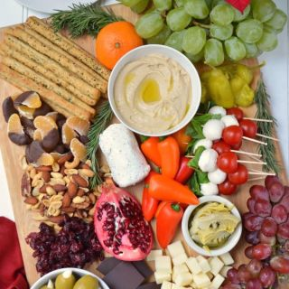 Holiday Antipasto Platter Ideas