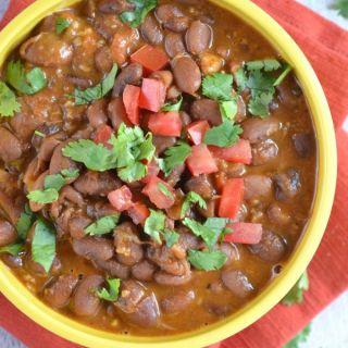 La Barbecue Charro Beans