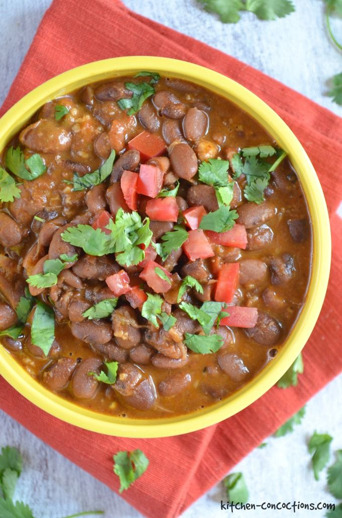 Kitchen Concoctions - La Barbecue Charro Beans Recipe