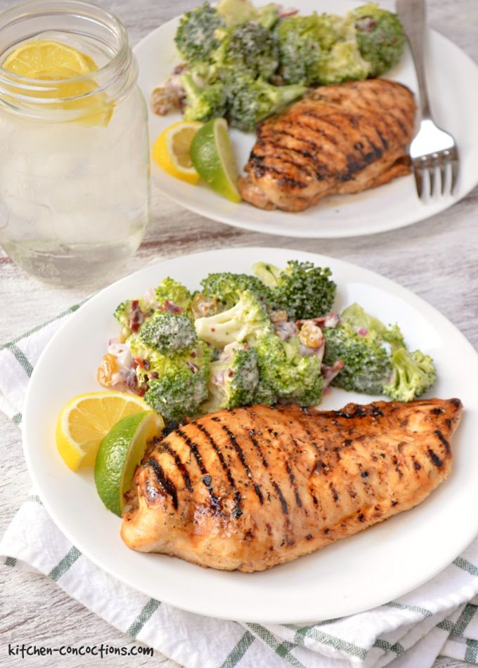 Lemon Lime Grilled Chicken recipe