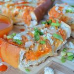 Buffalo Chicken Stuffed French Bread Recipe