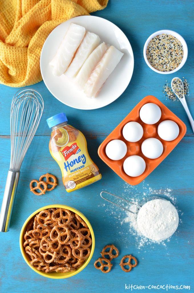 ingredient photo for Pretzel Crusted Fish Sticks