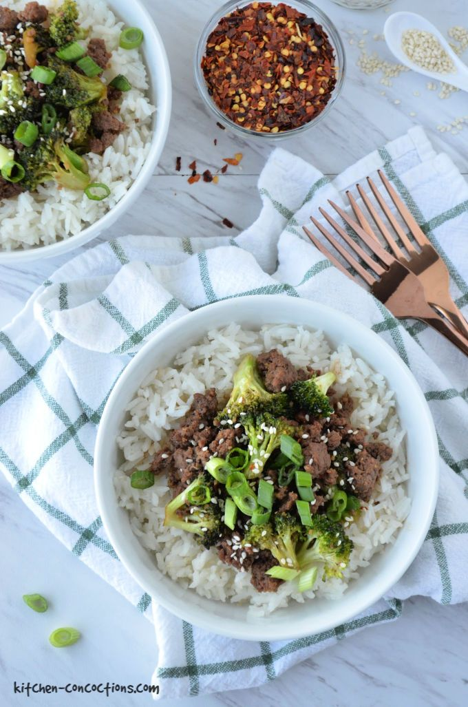 Korean Beef and Broccoli