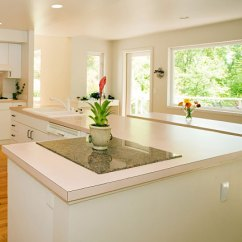 Pictures Of Laminate Kitchen Countertops Cabinets Cleveland Ohio Countertop In A Brightly Lit On White