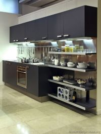 Kitchen Remodel Designs: Open Kitchen Cabinet Ideas