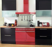Red And Black Kitchen Decorating Ideas - interior ...
