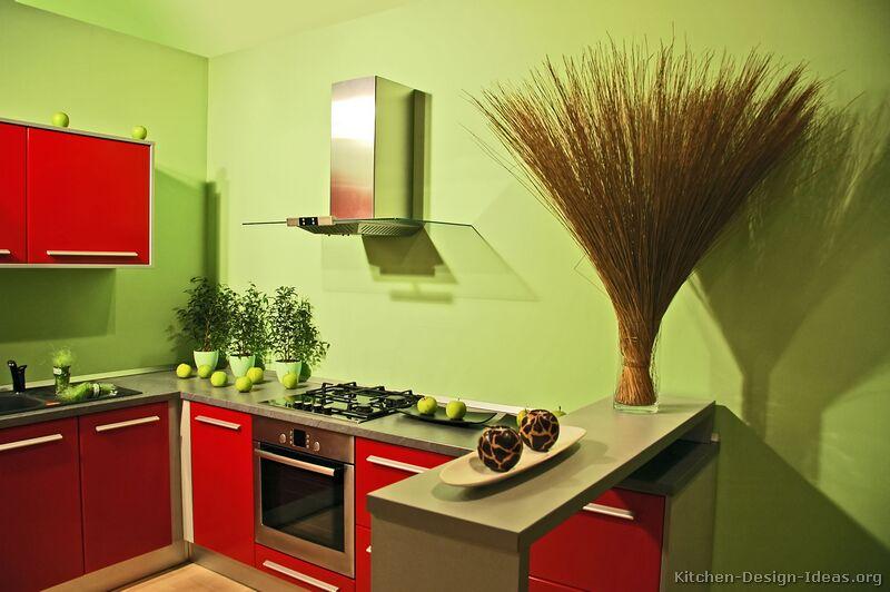 Peinture Cuisine Vert Anis