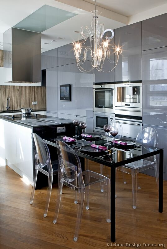 HighClass European Kitchen Cabinets with Luxury Appliances