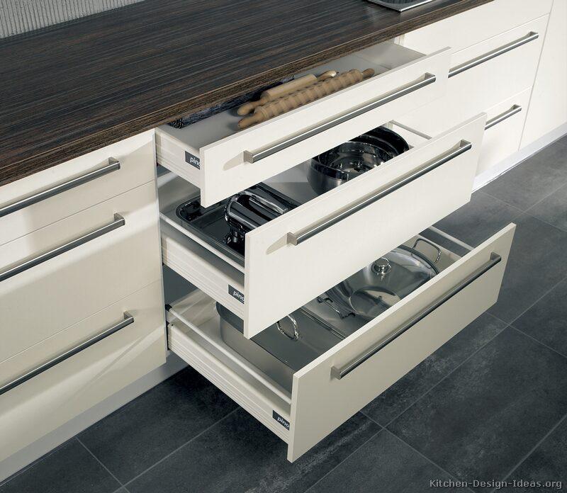 Modern Kitchen Cabinets White page