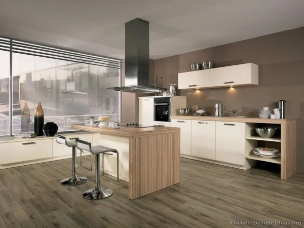 modern white kitchen cabinets Pictures of Kitchens – Style: Modern Kitchen Design